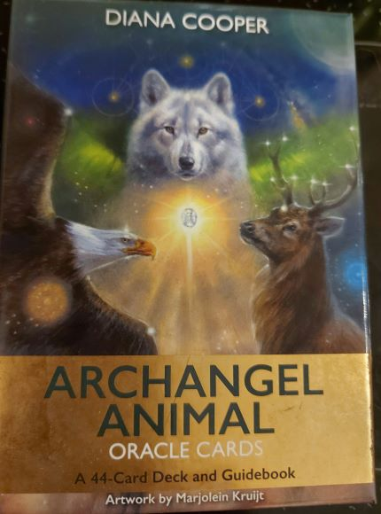 Archangel Animal Oracle Cards www.aurinkorumpu.fi